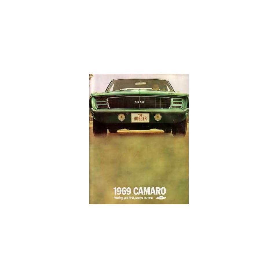 1969 CHEVROLET CAMARO Sales Brochure Literature Book