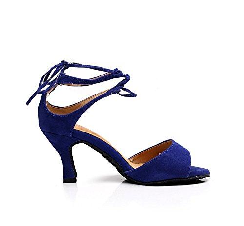 Minitoo 7 Salle Heel Blue 5cm bal de femme g4qrgH