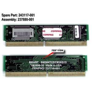 Compaq Genuine 256K Cache Memory DIMM Module DeskPro 2000 Presario 3000 4000 6000 8700 Series - Refurbished - 243117-001