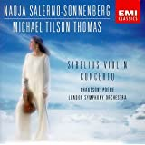 Sibelius: Violin Concerto; Chausson: Poeme for Violin & Orchestra; Nadja Salerno-Sonnenberg