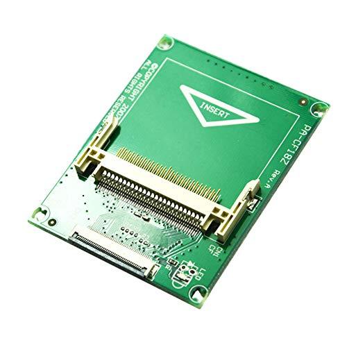 Wulidasheng CF Adapter Card,50 Pin Compact Flash CF to 1.8Inch ZIF/CE Hard Drive Adapter Card Converter