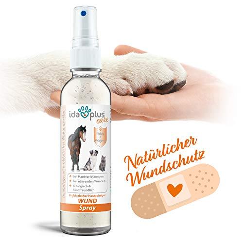 Ida Plus – Wund Spray für Hunde, Katzen, Pferde & mehr 200 ml – Schutzschild bei Hautverletzungen – Unterstützung der…