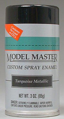 Testor Corp. Model Master Turquoise Metallic Spray 2945