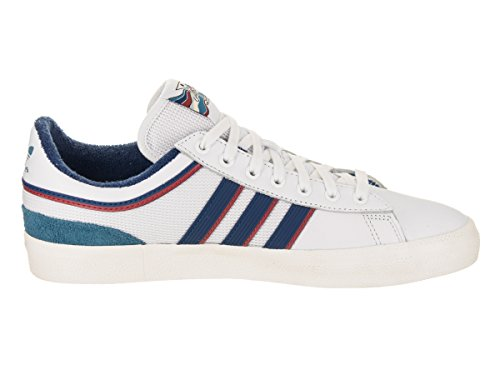 Scarpe Da Skate Adidas X Alltimers Campus Vulc (bianco / Blu / Scarlatto) Bianco / Blu / Scarlett