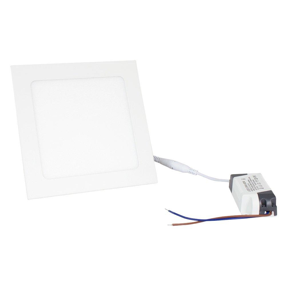 Ledovet Placa LED Downlight Superslim Cuadrado 12W Blanco Neutro 4000k-4500k