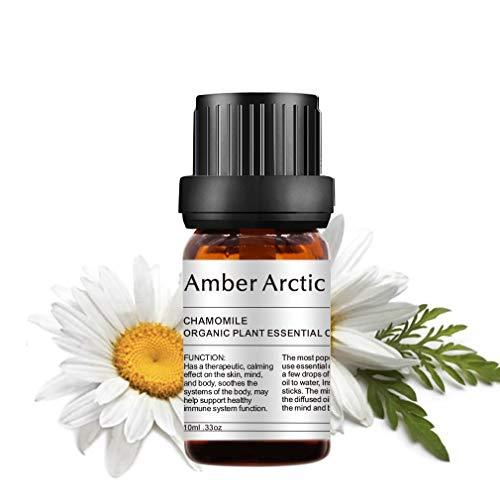 Chamomile Essential Oil - 100% Pure Aromatherapy Jasmine Oils for Diffuser, Massage, Skin Care(10ML)
