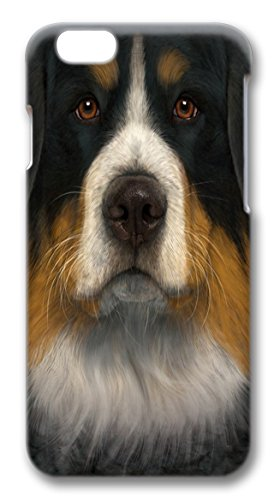 Bernese Mountain Dog Face PC Case Cover for iphone 6 plus 5.5inch