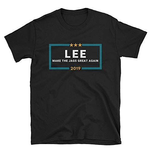 LiberTee Lee Make The Jags Great Again Tshirt for Men and Women, Funny 2019 Football Shirt for Jaguars Fans