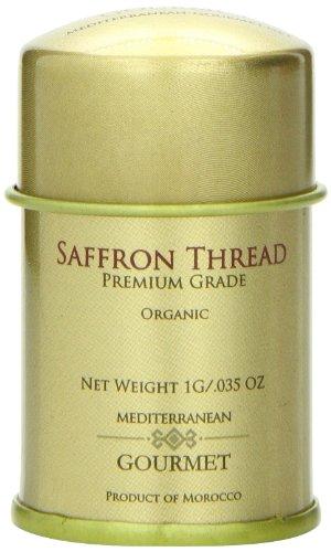 Mediterranean Gourmet Saffron Thread, 1 Gram