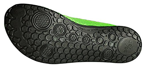 LOUECHY Finet Mens and Womens Barefoot Water Shoes Quick-Dry Aqua Socks For Swimming Surf Yoga Green 9tadXBm4GM