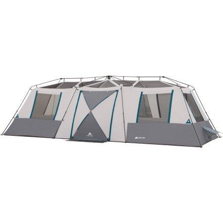 Ozark Trail 15 Person 3 Room Split Plan Instant Cabin