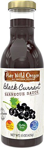 Pure Wild Oregon BBQ Sauce, Black Currant, 15 Ounce ()