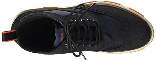 Uomo Swims High Brogue Orange Storm Black Polacchine Navy Mehrfarbig n1S1I4