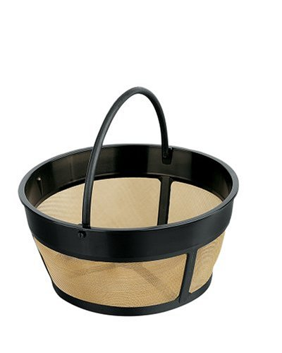 Gold Tone Filter Basket