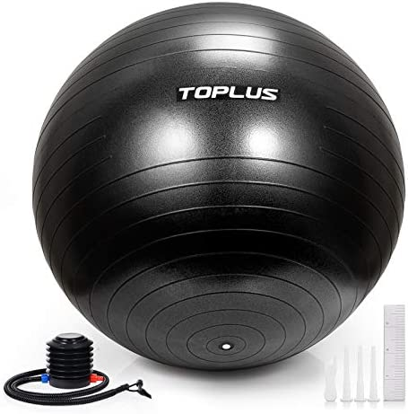 TOPLUS Exercise Ball Multiple Sizes Thick Yoga Ball Chair