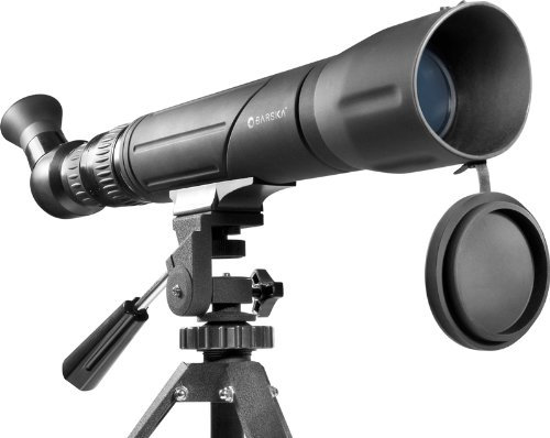 BARSKA 20-60x60 Spotter SV Angled & Rotatable Spotting Scope w/ Tripod & Soft Case