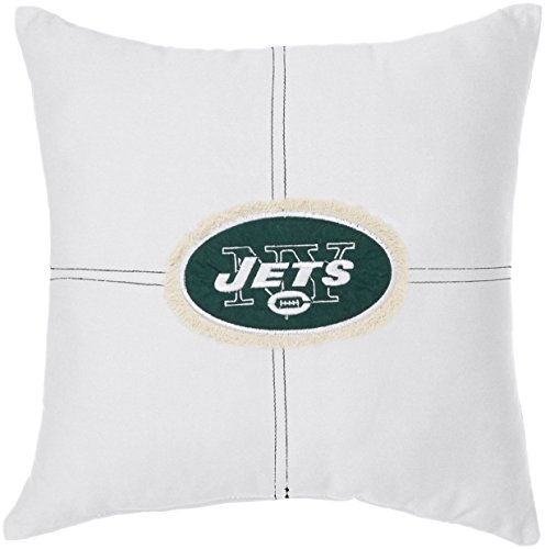 The Northwest Company Officially Licensed NFL New York Jets Letterman Pillow, 18