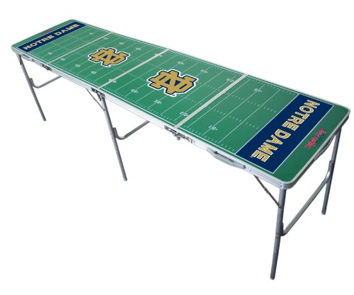 Notre Dame Fighting Irish 2x8 Tailgate Table by Wild Sports
