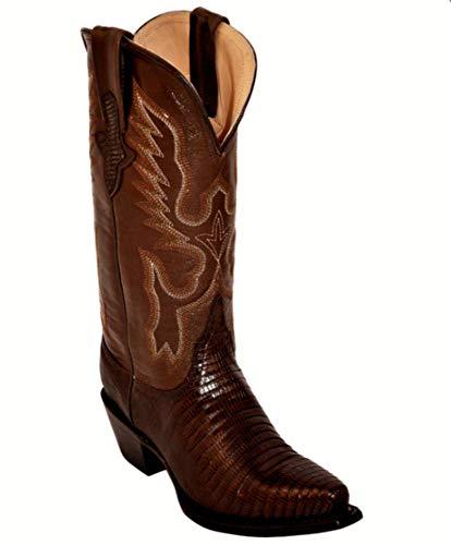 Ferrini Chocolate Lizard Cowgirl Boots