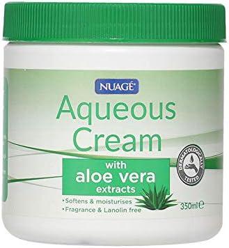 Nuage Aqueous Cream With Aloe Vera Extracts 350ml – Softens & Moisturises Skin