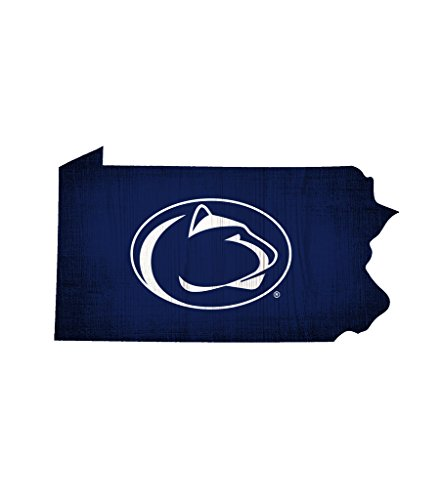 - Fan Creations Penn State Nittany Lions Sign Wood Logo State Design