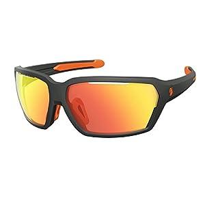 Scott 2017 Vector Sunglasses - 250514 (Black Matt/Neon Orange - Red Chrome Amplifier)