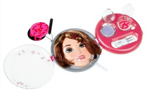 [Barbie Fashion Fever Compact Styling Face - Brunette with Highlights] (Barbie Costume Makeup)