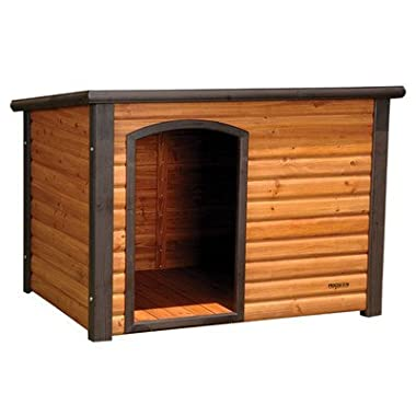 Precision Pet 45.5 by 48.5 by 40-Inch Extreme Log Cabin, X-Large