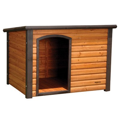Precision Pet 45.5 by 48.5 by 40-Inch Extreme Log Cabin, ...