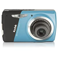 Kodak Easyshare M530 12 MP Digital Camera with 3x Wide Angle Optical Zoom and 2.7-Inch LCD (Blue)
