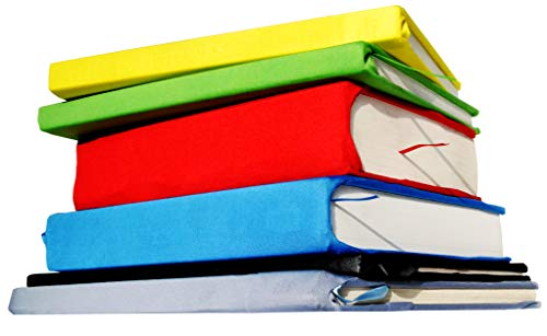 Jumbo Stretchable Book Covers for Textbooks Hardcover Washable Reusable Book Sleeve Protector Large Durable Book Suits Socks