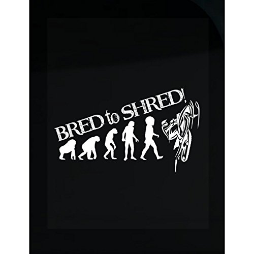 Bred To Shred Snowmobiling - Sticker