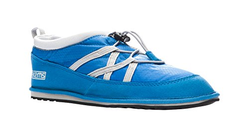 Pakems Classic Low Top Boot - Scarpa Leggera Donna Confezionabile - Perfetta Per Lescursionismo, Il Campeggio, Lo Sci, In Giro Per Casa E Più Blu / Grigio