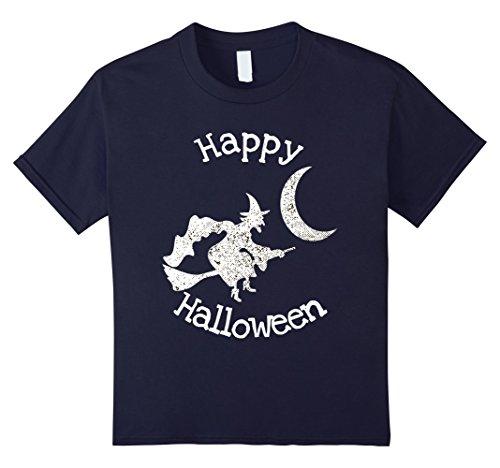 Kids Happy Halloween witch t-shirt 12 (T Shirt Halloween Femme)