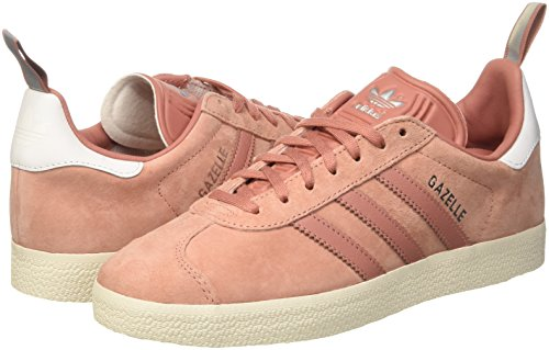 silver Baskets Metallic raw raw Rose Basses Femme Adidas Pink Gazelle 1wPqF8Fpg