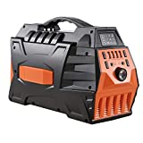 Moow Portable Power Generator, 296Wh UPS Lithium Ion Power Station 500W Pure Sine Wave Inverter Generator with Dual 110V AC Outlets 4 USB Ports DC Ports LED Lights for Camping Travel CPAP Emergency