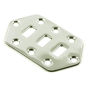 fender jaguar pickup selector switch control plate for electric guitar chrome