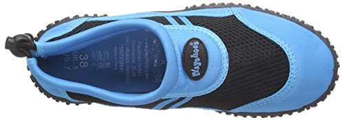 Playshoes Unisex Adults Aqua Shoes, Beach & Pool Shoes Blue (Blue 7)
