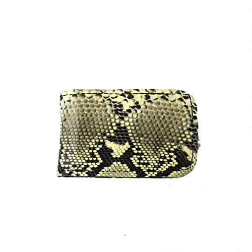 Clip Snake (Genuine Snake Skin Python Leather Money Clip)
