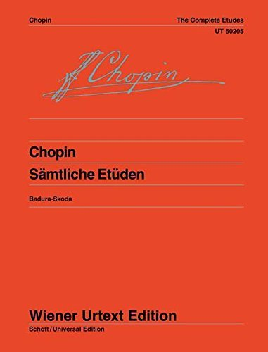 Chopin. Complete Studies Op. 10 + 25. (Sheet Music) by Paul(E) Chopin (Au Fr??d??ricBadura-Skoda (2005-08-02) by Wiener Urtext Edition