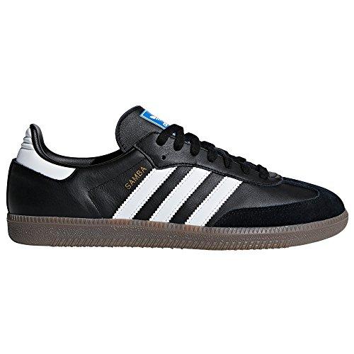 Adidas Samba Og Wei? Und Schwarz Turnschuhe F