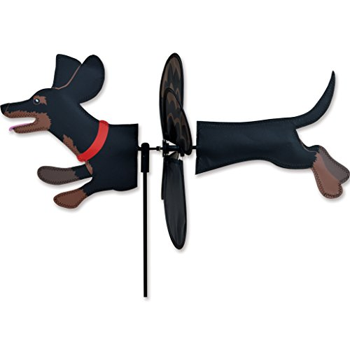 Petite Spinner - Black Dachshund by Premier Kites