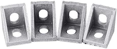 4 piezas 2020, perfil de aluminio, conector de soporte de ángulo ...