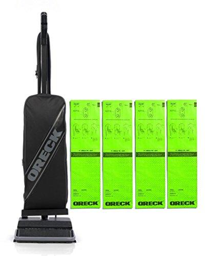 oreck-uk2200-8-pound-upright-vacuum-with-bonus-4-bags-bundle