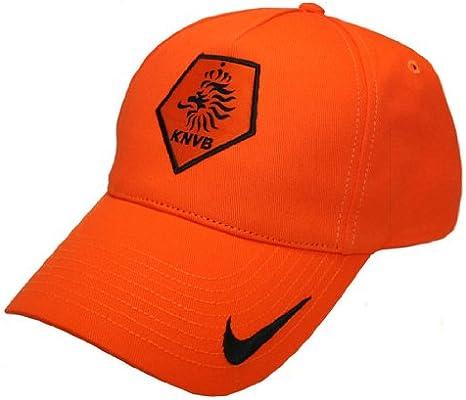 Gorra Nike KNVB Naranja naranja Talla:talla única: Amazon.es ...