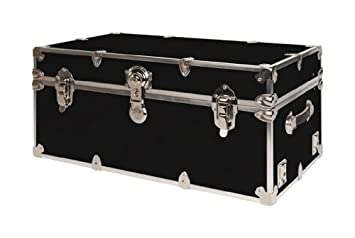 SecureOnCampus College Dorm Trunks / Footlockers Large   Black Part 86