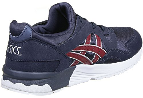 Asics Gel-lyte V Ps, Unisex-Kinder Sneakers INDIA INK / BURGUNDY