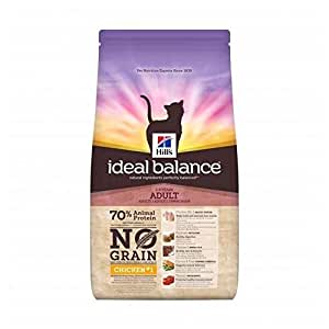 Hills hill S – Pienso ideal Balance no grano AU pollo para gatos – 1
