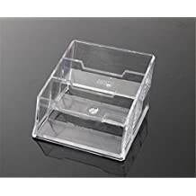 Interesting® 3Pcs 3-Pocket Acrylic Business Card Holder for Display