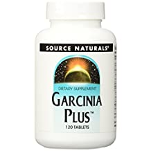 Source Naturals Garcinia Plus, Supports Weight Management, 120 Tablets